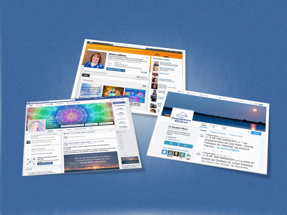 Rayonnement sur les médias sociaux